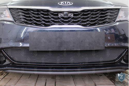Защита радиатора KIA OPTIMA IV рестайлинг (GT/GT-Line) 2018, 2019, 2020г.в.