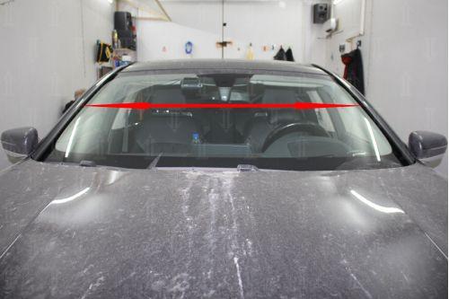 Дефлектор лобового стекла для BMW 7-Series (G11/G12) 2015, 2016, 2017, 2018г.в. (VI)