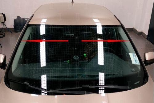 Дефлектор лобового стекла для SKODA RAPID 2020г.в. (II)