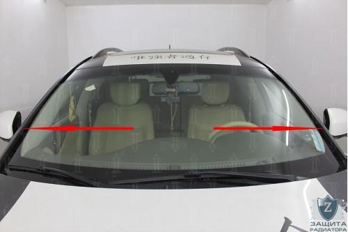 Дефлектор лобового стекла для INFINITI QX70 II 2013-2019