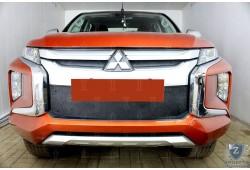 Зимняя защита радиатора - Mitsubishi L200 2018 - 2020 н.в  (V рестайлинг)