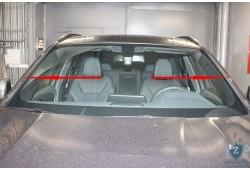 Дефлектор лобового стекла Стрелка - BMW X3 (G01) 2017, 2018, 2019, 2020, 2021г.в. (III)