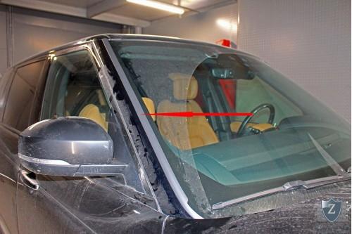 Дефлектор лобового стекла для LAND ROVER RANGE ROVER (IV рестайлинг)