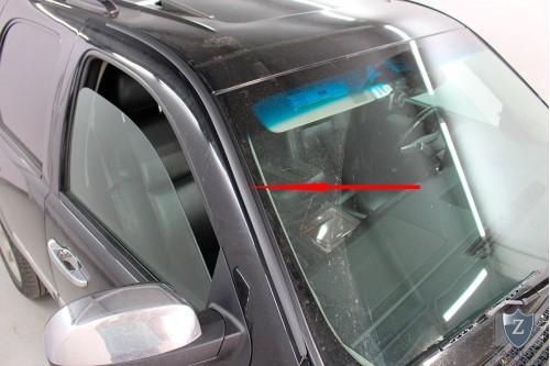 Дефлектор лобового стекла для CHEVROLET TAHOE III 2006-2014г.в.