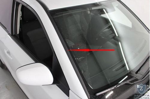 Дефлектор лобового стекла для SUZUKI VITARA IV рестайлинг 2018, 2019, 2020, 2021г.в.