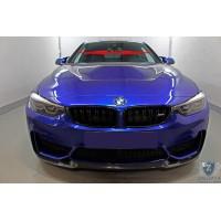 BMW M4 2017-2020г.в. (I рестайлинг) - Дефлектор лобового стекла Стрелка-2