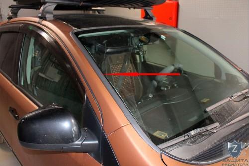 Дефлектор лобового стекла для NISSAN NOTE I рестайлинг