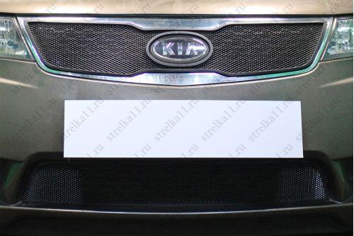 Защита радиатора KIA CERATO II 2011-2013г.в.