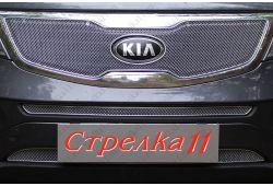 Защита радиатора ОПТИМАЛ - KIA SPORTAGE III 2010-2014г.в.