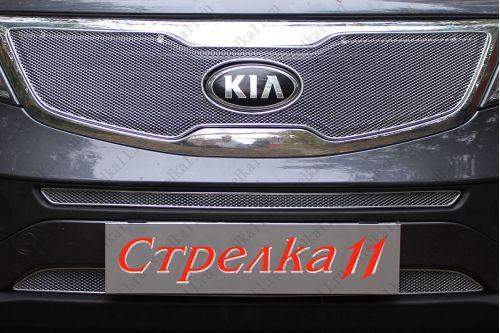 Защита радиатора KIA SPORTAGE III 2010-2014г.в.