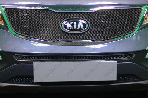 Защита радиатора KIA SPORTAGE III рестайлинг 2014-2015г.в.