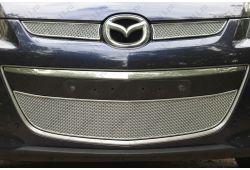 Защита радиатора ПРЕМИУМ - MAZDA CX-7 I рестайлинг 2009-2012г.в.