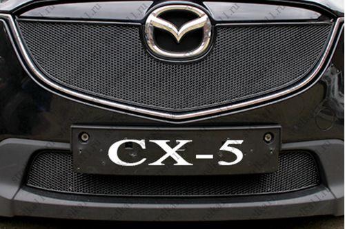 Защита радиатора MAZDA CX-5 I 2012-2014г.в.