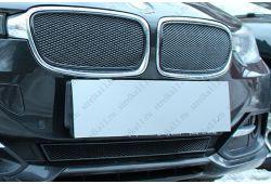 Защита радиатора ПРЕМИУМ - BMW 3 (F30-F31) VI 2011-2016г.в.