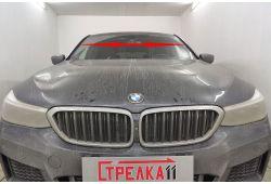 BMW 6-Series Grand Turismo (G32) 2017-2020г.в. (I) - Дефлектор лобового стекла Стрелка-2