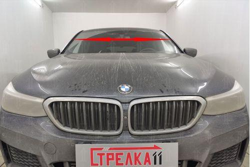 Дефлектор лобового стекла для BMW 6-Series Grand Turismo (G32) 2017, 2018, 2019, 2020г.в. (I)