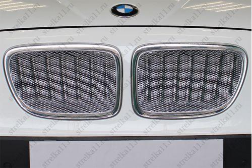 Защита радиатора BMW X1 I 2009-2012г.в.
