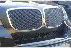 Защита радиатора ПРЕМИУМ - BMW X5 II 2006-2013г.в.