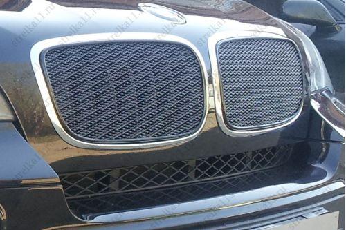 Защита радиатора ПРЕМИУМ - BMW X5 II 2006-2010г.в.