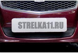 CHEVROLET MALIBU VIII 2011-2014г.в. - Защита радиатора СТАНДАРТ