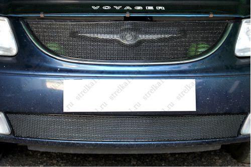 Защита радиатора CHRYSLER VOYAGER IV 2001-2004г.в.