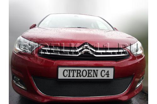 Защита радиатора CITROEN C4 II 2011-2016г.в. (hb)