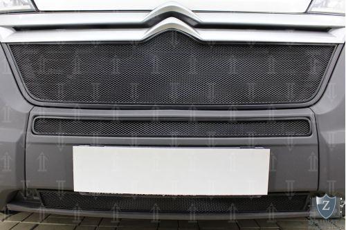 Защита радиатора СТАНДАРТ - CITROEN JUMPER 2014-2018г.в. (II рестайлинг)
