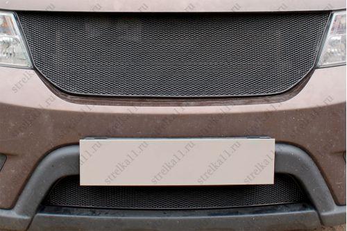 Защита радиатора FIAT FREEMONT 2013-2017г.в.