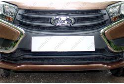 LADA X-RAY I 2015-2019г.в. - Защита радиатора СТАНДАРТ