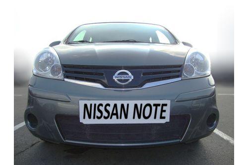 Защита радиатора NISSAN NOTE I рестайлинг 2009-2014г.в.