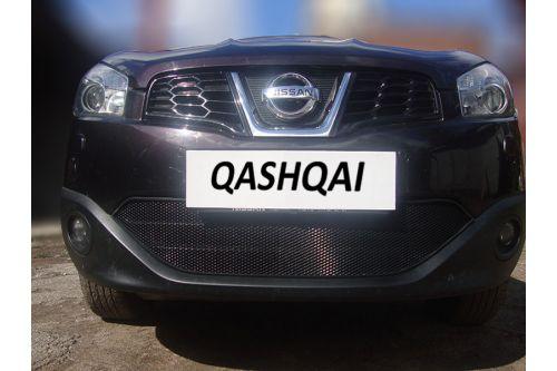 Защита радиатора NISSAN QASHQAI I рестайлинг 2010-2014г.в.
