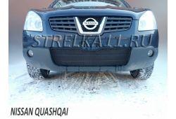 NISSAN QASHQAI I 2006-2010г.в. - Защита радиатора СТАНДАРТ