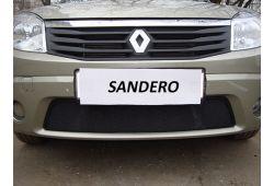 RENAULT SANDERO I 2010-2014г.в. - Защита радиатора СТАНДАРТ