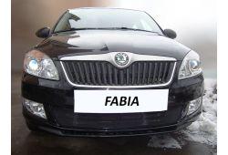 Защита радиатора СТАНДАРТ - SKODA FABIA II рестайлинг 2010-2015г.в.