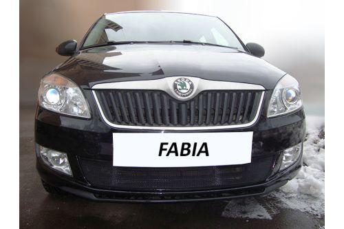 Защита радиатора SKODA FABIA II рестайлинг 2010-2015г.в.