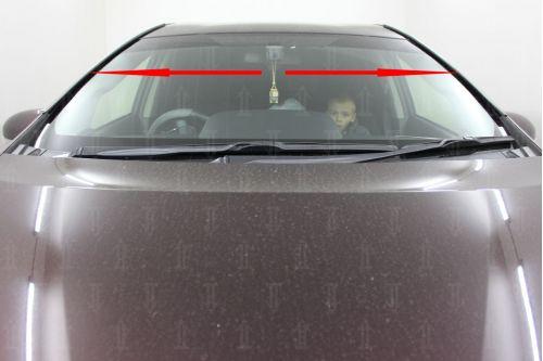 Дефлектор лобового стекла для TOYOTA PRIUS V (ZFW41) I 2011-2014г.в.