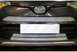 Защита радиатора ПРЕМИУМ - TOYOTA RAV4 IV рестайлинг 2015-2019г.в.