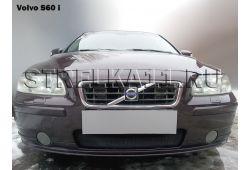 VOLVO S60 I рестайлинг 2004-2010г.в. - Защита радиатора СТАНДАРТ