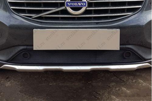 Защита радиатора VOLVO XC60 I рестайлинг 2013-2017г.в. (с парктроником)