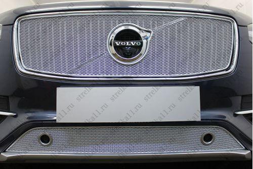 Защита радиатора ПРЕМИУМ - VOLVO XC90 II 2014-2019г.в.